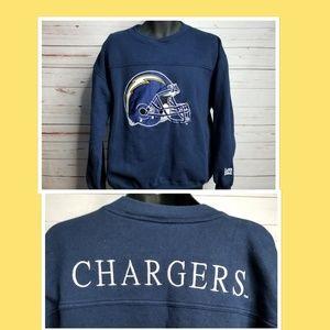 Vintage San Diego Chargers Sweatshirt NFL Large